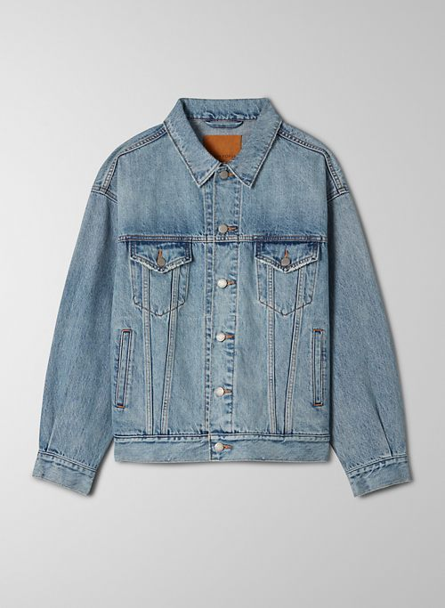 THE ALI OVERSIZED JACKET - Oversized denim jacket