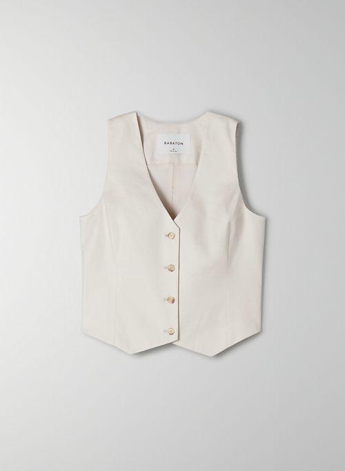 BRADSHAW VEST - Four-button suit vest