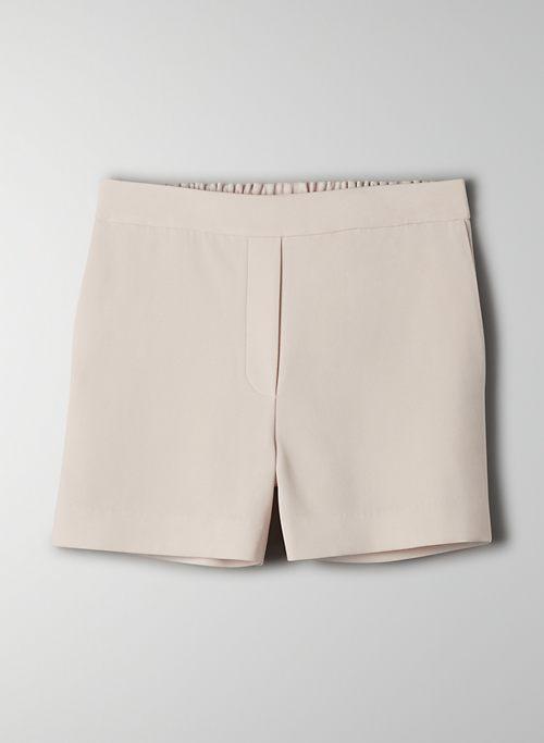 CONAN SHORT - High-waisted trouser shorts