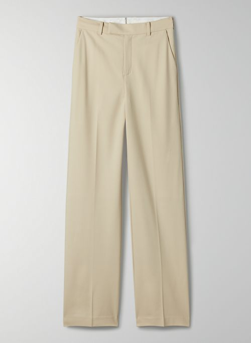 AGENCY PANT - High-waisted wool trouser