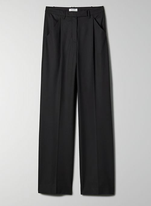 SASHA PANT - Mid-rise, wide leg pant