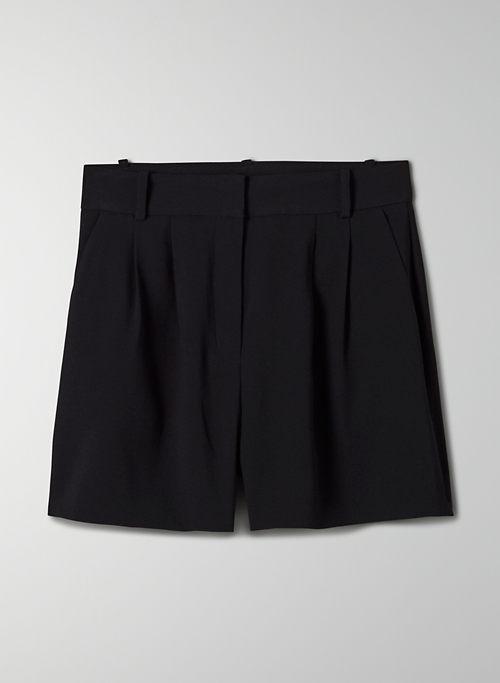 KENNEDY SHORT - High-waisted pleated shorts