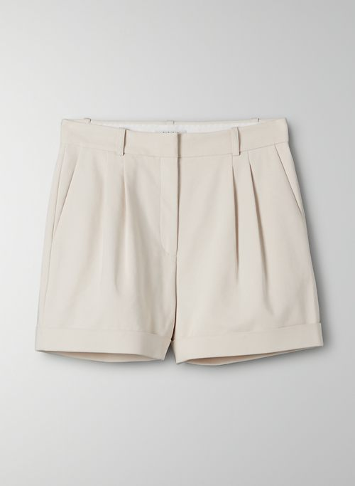 GERALDINE SHORT - High waisted pleated shorts