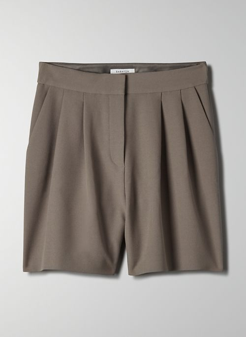 VALENTINE SHORT - High-waisted pleated shorts