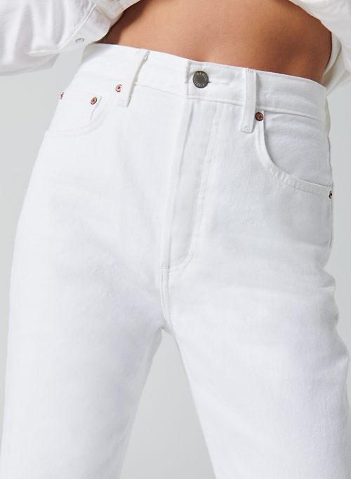THE BOYFRIEND HIGH RISE LOOSE 28L - Baggy cuffed jeans