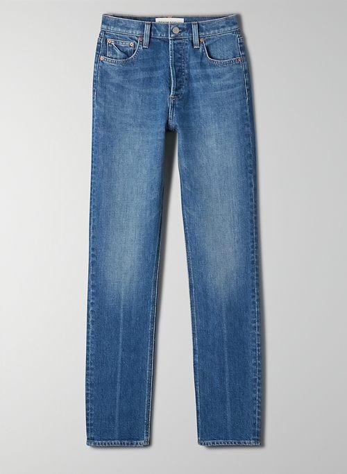 THE YOKO HIGH RISE SLIM 30L - High-waisted slim jean