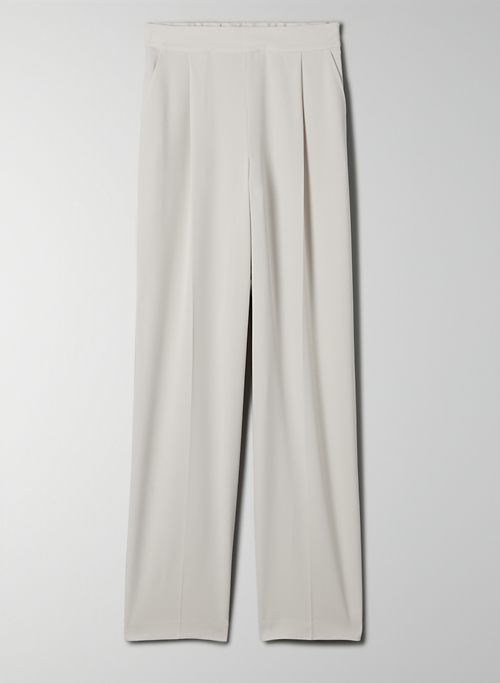 TIO PANT - High-waisted pleated trousers