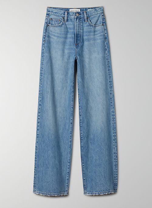 THE COCO HIGH RISE WIDE LEG 33L - High-rise, wide-leg jean