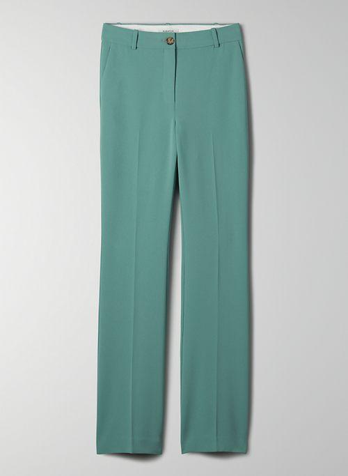 DENISE PANT - High-rise, flared pants