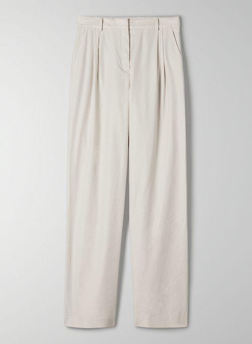 ARMSTRONG PANT - Wide-leg linen pants
