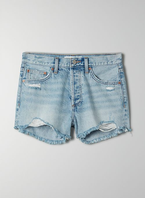 THE EX BOYFRIEND SHORT - Relaxed, mid-rise cut-off shorts