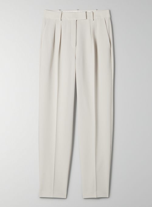 AUSTIN PANT - High-rise carrot trouser