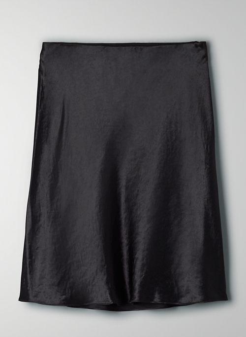 MINI SLIP SKIRT - Silky mini skirt