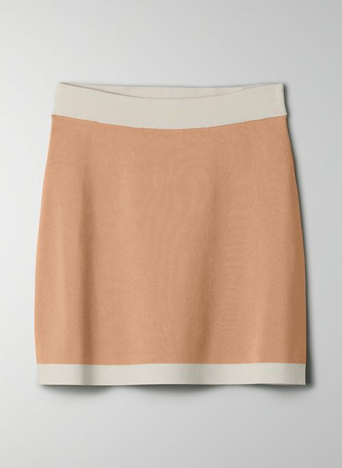 LEGACY SKIRT - Knit mini skirt