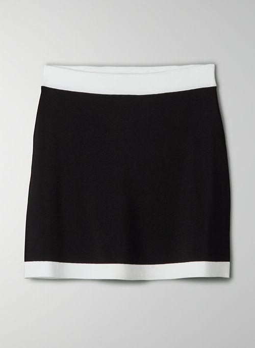 LEGACY SKIRT - Knit mini skirt