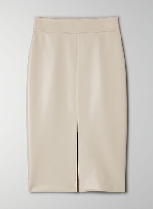 PEGU SKIRT - Vegan Leather pencil skirt