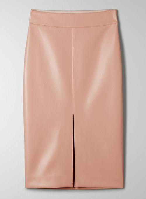 PEGU SKIRT - Vegan Leather pencil skirt