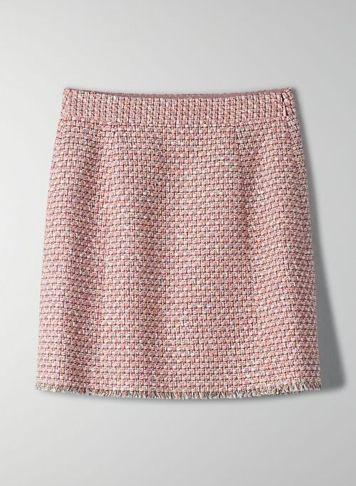 ORION SKIRT - Tweed mini skirt