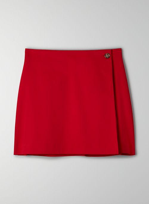 MADDEN SKIRT - Mini wrap skirt
