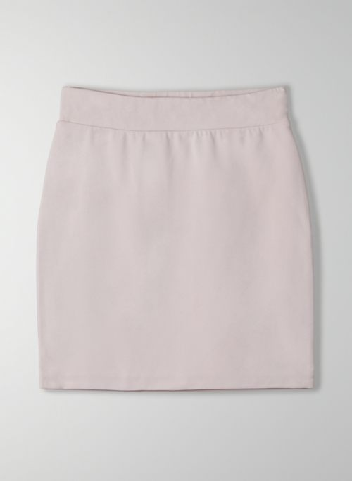 CONTOUR SKIRT - High-waisted mini skirt