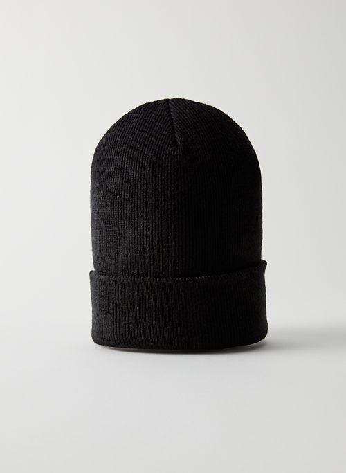 PEAK BEANIE - Ribbed knit beanie