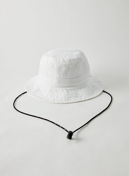 DOMINO BUCKET HAT - Drawcord bucket hat