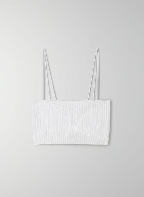 SADIE SEAMLESS TANK - Seamless, knit bra top