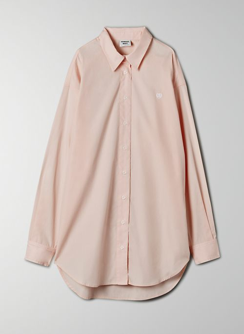 FUTURE BUTTON-UP - Oversized, poplin button-up shirt