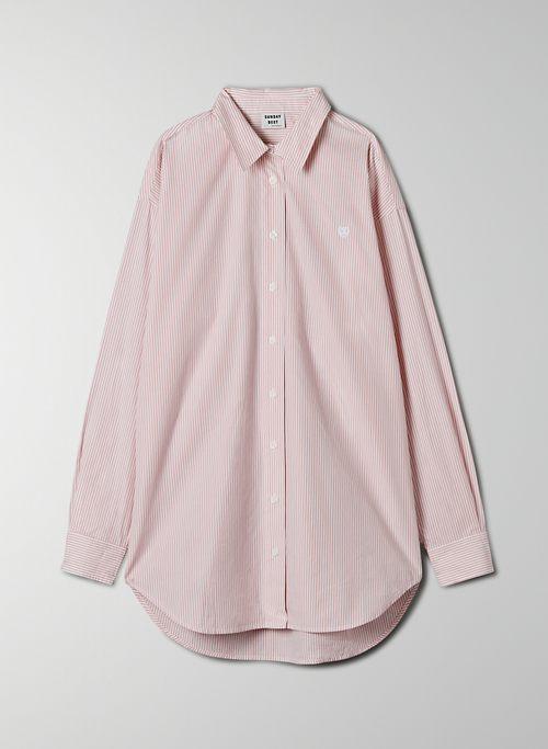 FUTURE BUTTON-UP - Oversized, poplin button-up shirt
