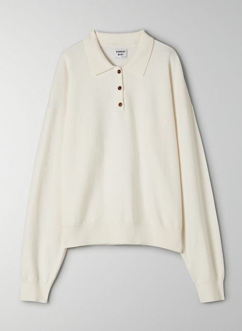 FLORES SWEATER - Polo sweater