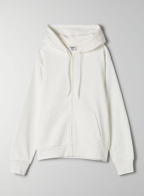 BETTY ZIP-UP - Relaxed fleece zip-up