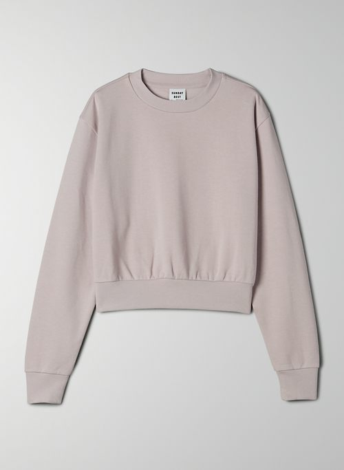 HARLEY SWEATER - Cropped crewneck sweater