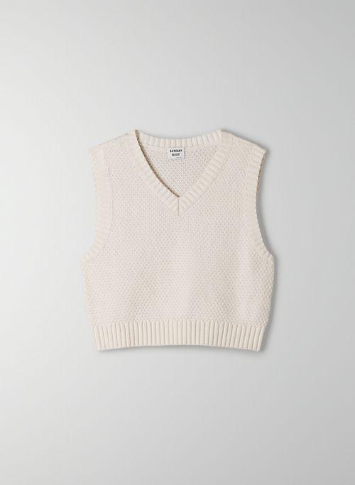 SPARROW VEST - V-neck sweater vest