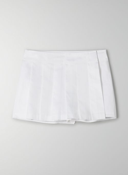 ROWAN SHORT - High-waisted pleated skort
