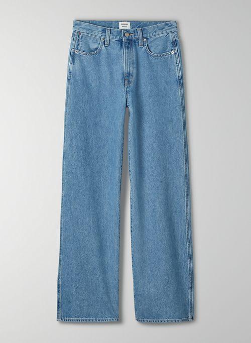 OLLIE BAGGY WIDE LEG - Mid-rise wide-leg jean