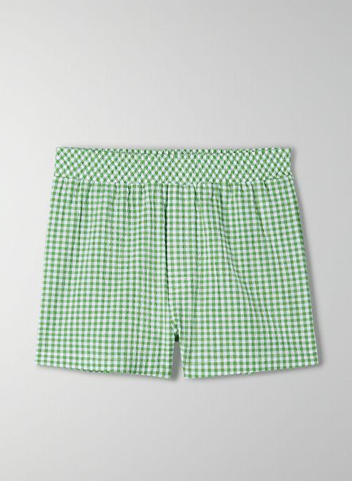 ELIZA SHORT - High-waisted, pull-on shorts