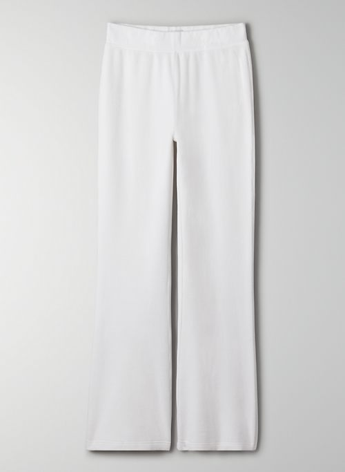KIERA PANT - High-waisted velour flare pant
