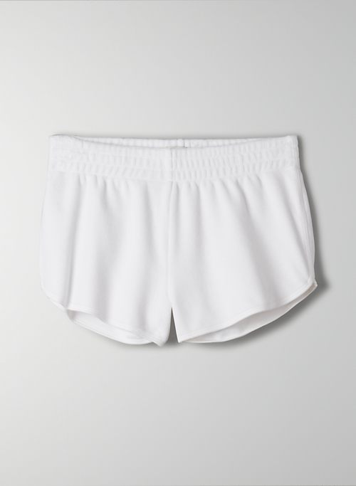 KIERA SHORT - Velour mini shorts