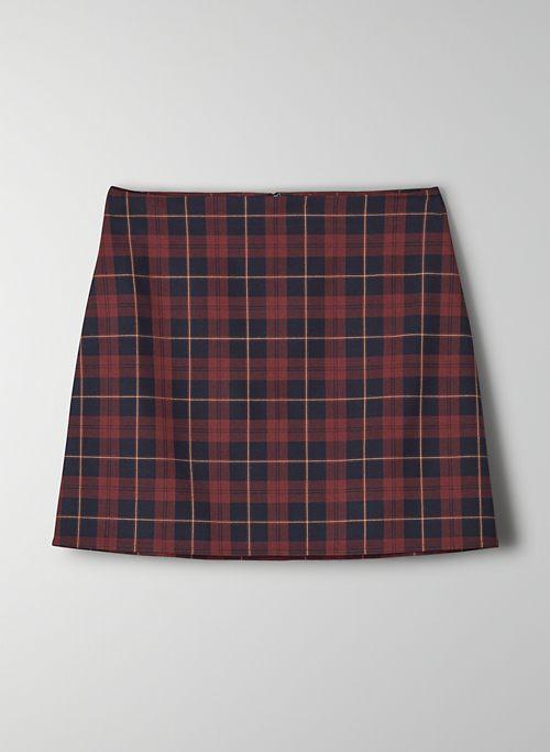 BOBBY SKIRT - High-waisted mini skirt