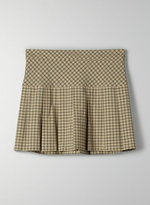 ZOEY SKIRT - Pleated mini skirt