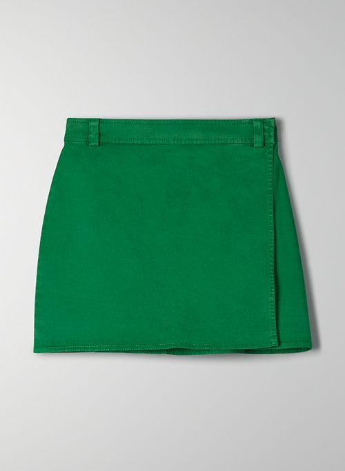 WALKER SKIRT - High-waisted wrap skirt