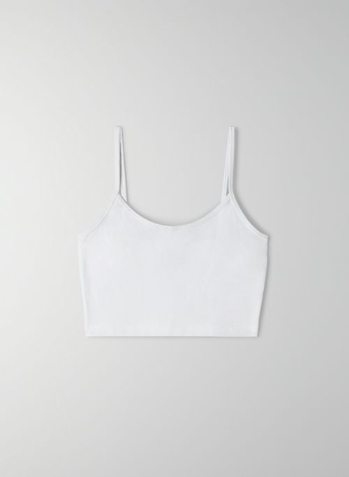 KARELIS TANK - Cropped, bodycon tank top