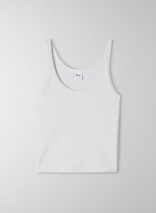 BERGMAN TANK - Cropped, scoop-neck tank top