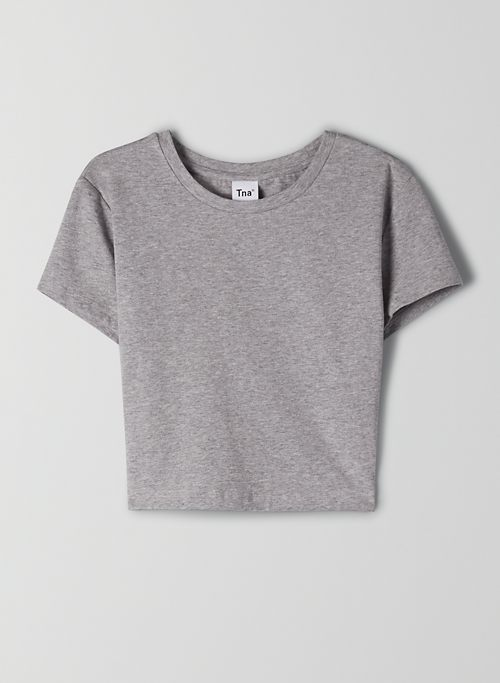 ORTIZ T-SHIRT - Cropped, crew-neck t-shirt