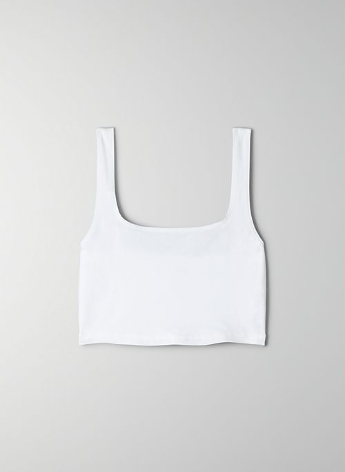 LAGUNA TANK - Stretchy, cropped tank top