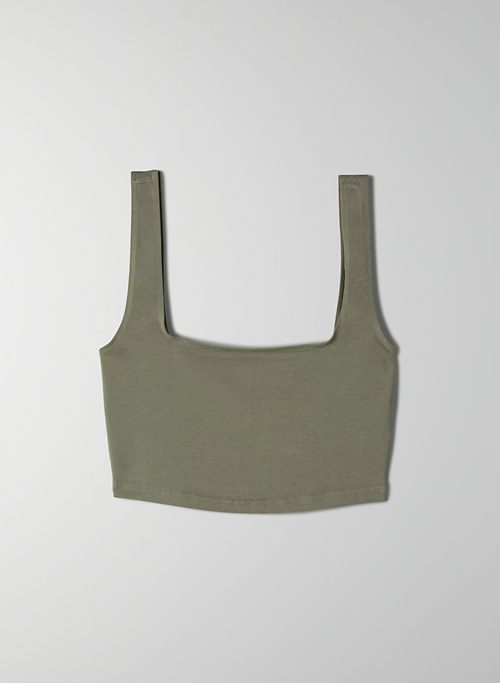 LAGUNA TANK - Stretchy, cropped tank top