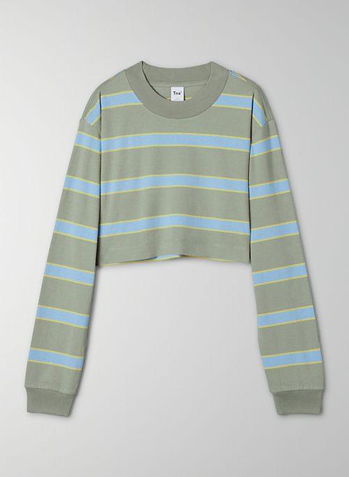 RYER LONGSLEEVE - Cropped striped longsleeve