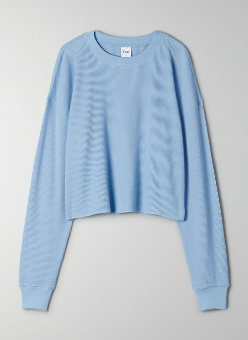 ALAMO THERMAL - Cropped, crew-neck thermal longsleeve