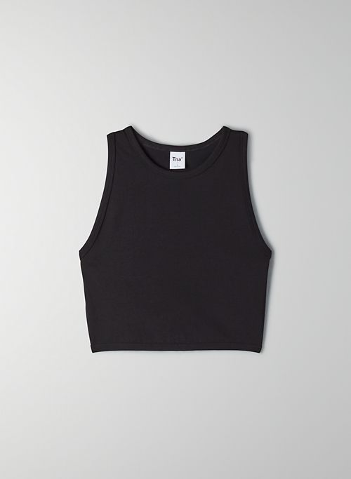 AVON TANK - Sporty cropped racerback tank top