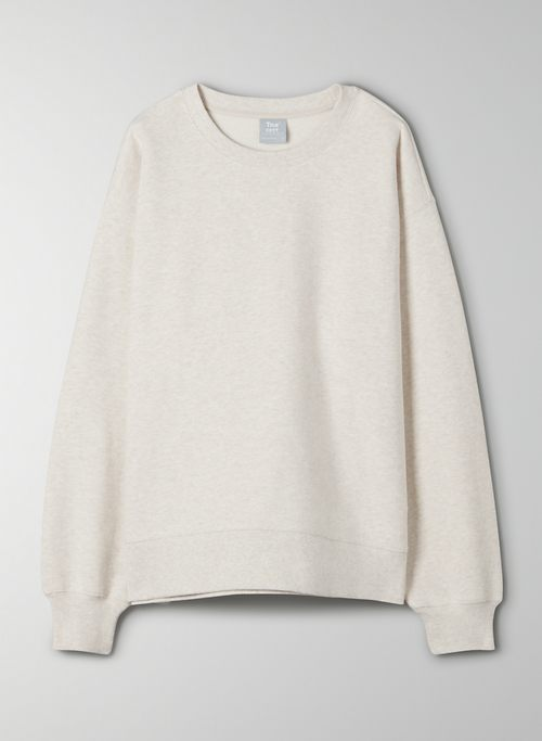 COZY FLEECE BOYFRIEND CREW SWEATSHIRT